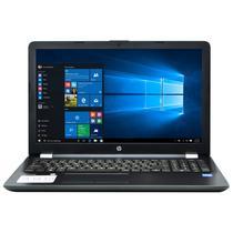 """Notebook HP 15-BS034LA Intel Celeron 1.6GHZ/ 4GB/ 500/ 15.6""""/ W10 Espanol Cinza"""