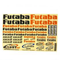 Futaba Adesivo Decal Sheet EBB1180