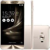 "Smartphone Asus Zenfone 3 Deluxe ZS550KL 64GB Lte Dual Sim 5.5""Cam.16MP+8MP-Prata"