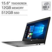 "Notebook Dell I3593-5568SLV-Pus i5-1035G1 1.0GHZ/ 12GB/ 512GB SSD/ 15.6""FHD/ Touch/ Windows 10/ Ingles Prata"