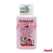 Farmasi Nail Polish Remover Rose Water 200ML(e)