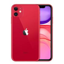 "Apple iPhone 11 LL A2111 128GB 6.1"" 12+12/12MP Ios - Vermelho (Slim Box)"