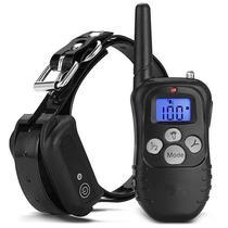 Coleira Eletronica M998 para Adestramento de Cachorro com Controle - Preto