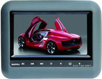 Tela para Encosto Napoli TFT-TV7393 - 7 Polegadas - USB - SD - TV Digital - Game - Cinza