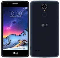 "Smartphone LG K8 X240DSF 16GB Lte Dual Sim Tela 5.0"" Cam.13MP/5MP - Preto/Azul"