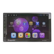 "Multimidia Automotivo Ecopower EP-8700 / Tela 7"" / GPS / Bluetooth - Preto"