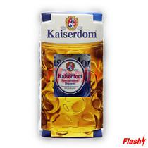 Cerveja Kit Kaiserdom Caneca Pilsener Premium 1LT