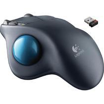 Mouse Logitech M570 Wireless Preto/Azul