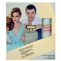 Kit Perfume Antonio Banderas Queen Of Seduction Eau de Toilette Feminino 80ML + Desodorante 150ML