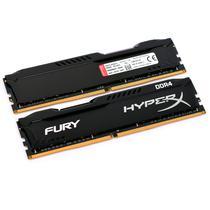 Memória Ram DDR4 Kingston Hyperx Fury HX424C15FB/4 4GB/2400MHZ Preto