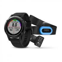Smartwatch Garmin Fenix 5 Performer Bundle 010-01688-32 com Bluetooth/Wi-Fi/Glonass - Preto