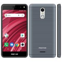 "Smartphone Positivo Twist 2 Fit S509 Dual Sim 3G 5.0"" 8GB - Cinza"