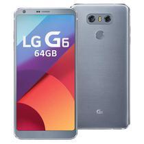 Smartphone LG G6 H870DS 32GB Lte Dual Sim Tela 5.7 Cam.13MP/13MP+5MP-Titanium