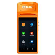 Impressora Portatil Golink GL-V1S Touch Screen / 58MM / Bivolt - Laranja