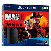 Caixa para Playstation 4 Pro Sony CUH-7215B - Red Dead Redemption II