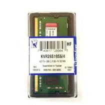 Memória para Notebook Kingston de 4GB DDR4 2666MHZ - KVR26S19S6/4
