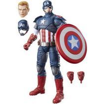 Boneco Hasbro Marvel Legends Capitao America Hasbro B7433
