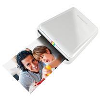 """Impressora Polaroid POLMP01W Zip para Foto 2 X 3"""" com Bluetooth - Branca"""