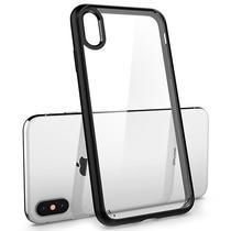 Capinha para iPhone XS Max Spigen Ultra Hybrid 065CS25128 - Transparente/Preta
