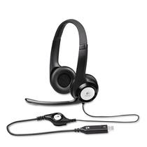 Headset Logitech H390 USB - Preto (981-000014)