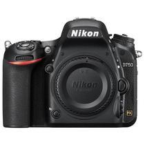 Camera Reflex Nikon D750 3.2 FX Cmos 24.3 MPX Wi-Fi Expeed 4 Full- HD Preto