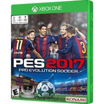 Jogo Pro Evolution Soccer 2017 Portugues Pes Xbox One