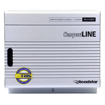 Amplificador Roadstar RS-4100DC 4CH 1000WATTS