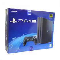 Console Sony Playstation 4 Pro 1TB Modelo 7116 / Caixa Grafica - Preto