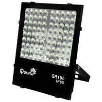 Refletor LED Quanta Sirius 100 de 90W com 9.000 Lumens Bivolt - Preto