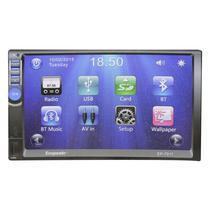 "Multimidia Automotivo Ecopower EP-7011 / Tela 7"" / GPS / Bluetooth - Preto"