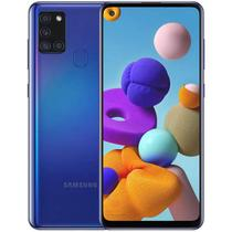 Smartphone Samsung Galaxy A21S SM-A217M 64GB Dual Sim Tela 6.5 48+8+2+2MP/13MP Os 10 - Blue