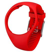 Pulseira Polar Wrist Strap M200 91067992 Medio/Grande - Vermelho