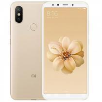 Celular Xiaomi A2 128GB / 4G / Dual Sim / Tela 5.8EQUOT; / Cameras 12MP+20MP e 20MP - Dourado