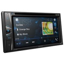 Toca DVD Automotivo Pioneer AVH-G225BT Tela 6.2 com Bluetooth/Rca/Radio/USB - Preto