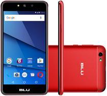 "Smartphone Blu Grand XL G150EQ Dual Sim 3G Tela 5.5""HD Cam. 8MP+5MP Vermelho/Preto"