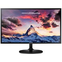 """Monitor LED de 27"""" Samsung S27F350FHL Full HD com D-Sub e HDMI Bivolt - Preto"""
