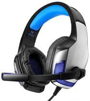 Headset para Jogos Kotion Each G5300 com Microfone Preto/ Azul
