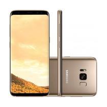Smartphone Samsung Galaxy S8+ G955FD 64GB Dual Sim Lte 6.2 Cam. 12MP+8MP Dourado