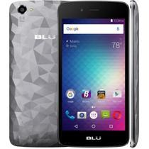 """Smartphone Blu Diamond M D210L Dual Sim 3G Tela 5.0"""" Cpu 4Core Android 6.0 Cinza"""