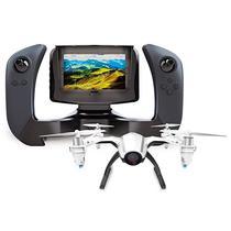 Drone Udirc Kestrel U28-1 360O de 6 Eixos e Camera 1280 X 720P - Branco