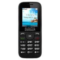 "Celular Alcatel 1050D Dual Sim Tela Colorida 1,8"" Radio FM Camera VGA - Preto"