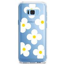 Capa Samsung Galaxy S8 Plus Ringke Rearth Fusion Design White Daisies
