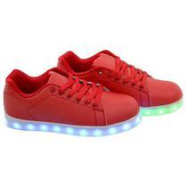 Tenis LED Gati TXL-19 No 30 - Vermelho