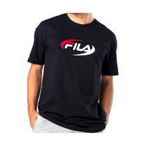 Camiseta Fila Masculina Elipse Preta