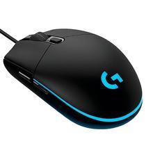 Mouse Optico Logitech Prodigy G203 USB de 8.000DPI/Iluminacao RGB - Preto