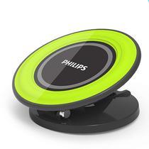 Carregador Wireless Philips DLP9041 10W-Preto/Verde