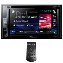 """Reprodutor DVD Automotivo Pioneer AVH-X395BT 6.2"""" com Bluetooth/USB - Preto"""