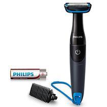 Barbeador Philips Bodygroom BG1024/10 Laminas 32 MM Bidirecional - Preto