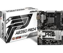 Placa Mãe Asrock AM4 AB350 PRO4 DVI/HDMI/D