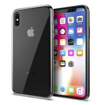Estojo Iluv iPhone X Metal Trim Aixmtbk Preto